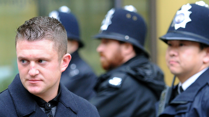 Tommy Robinson and junta-style justice in Orwellian England