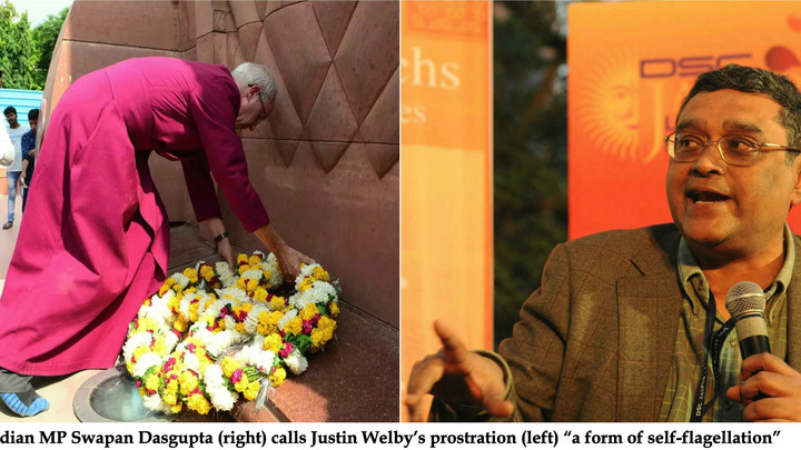 "Indian MP mocks Archbishop Justin Welby's Amritsar apology as ""self-flagellation"""