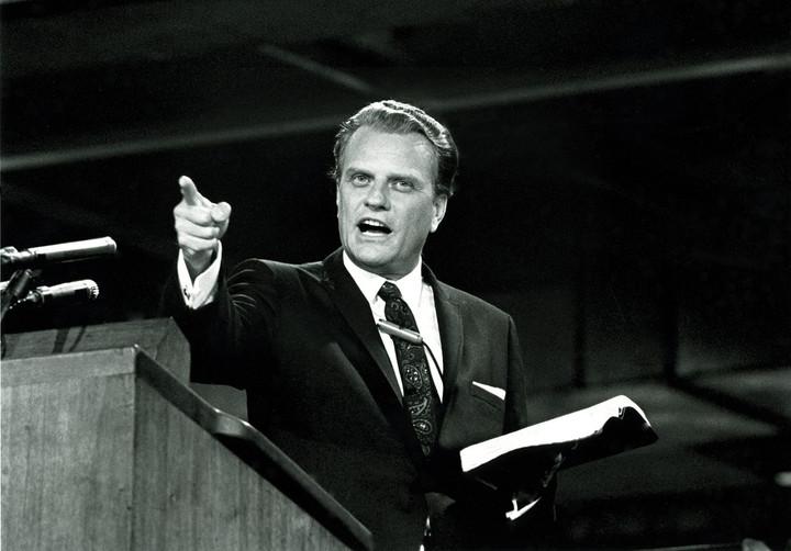 Praise be for God's salesman Billy Graham, 1918-2018