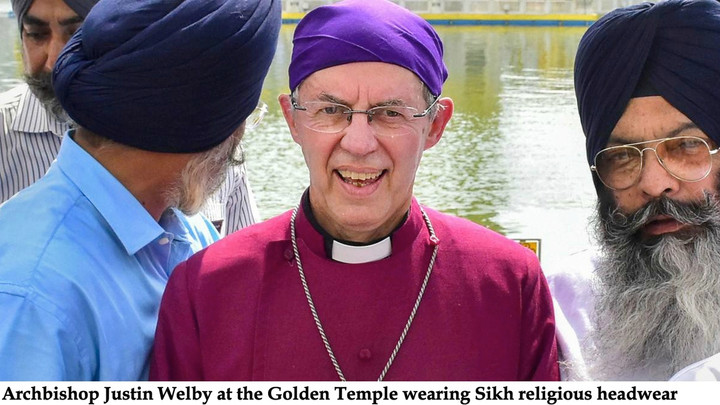 ARCHBISHOP OF CANTERBURY CAUGHT LYING?