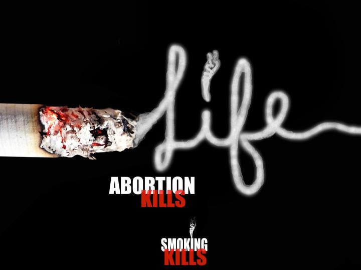 Smoking is evil; murdering babies is fine