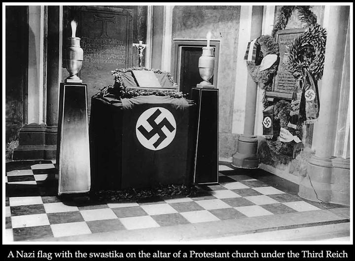 Nazis and Church of England bastardize baptism to play identity politics