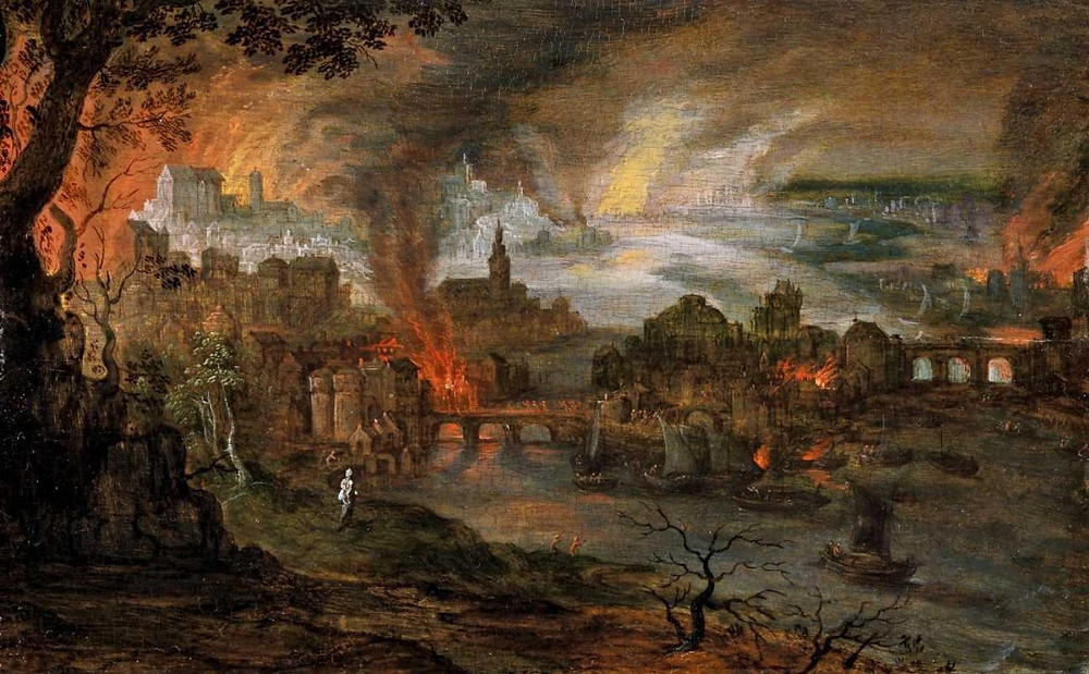 Pieter Schoubroeck, The Destruction of Sodom and Gomorrah
