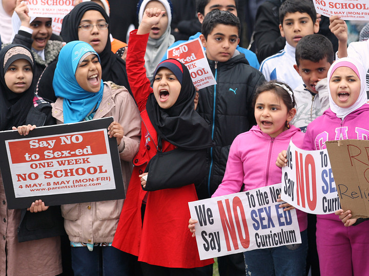 LGBT education in schools aims to destroy families and stop Muslims from multiplying