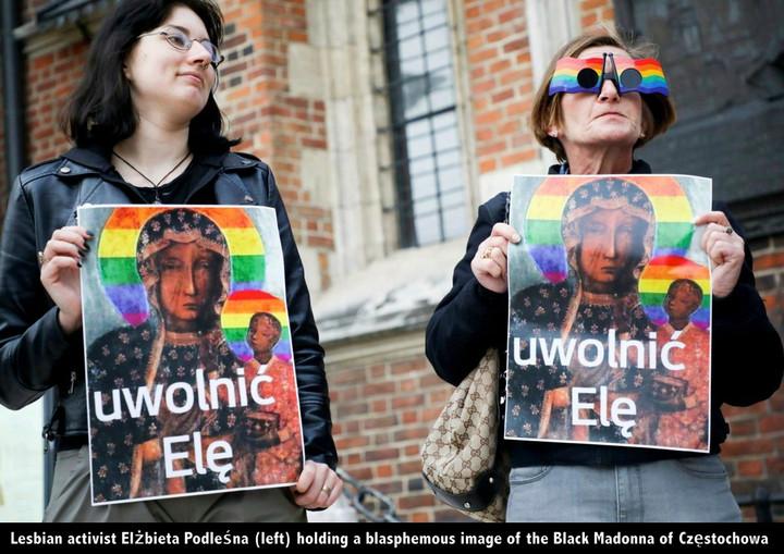 POLAND DECLARES ITSELF 'LGBT FREE' AS GAY PARADES TURN BLASPHEMOUS