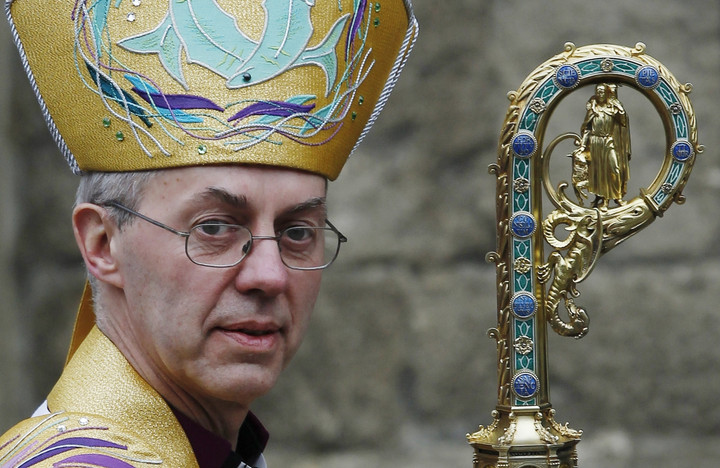 Welby has more to worry about than the Church's treatment of gays
