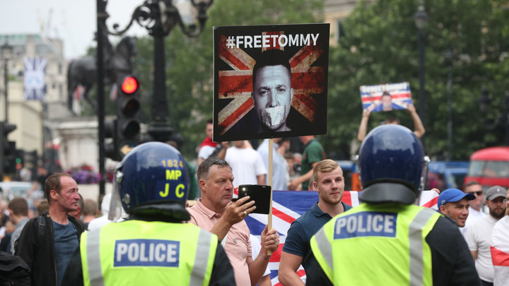 Mainstream media and the 'murder' of Tommy Robinson
