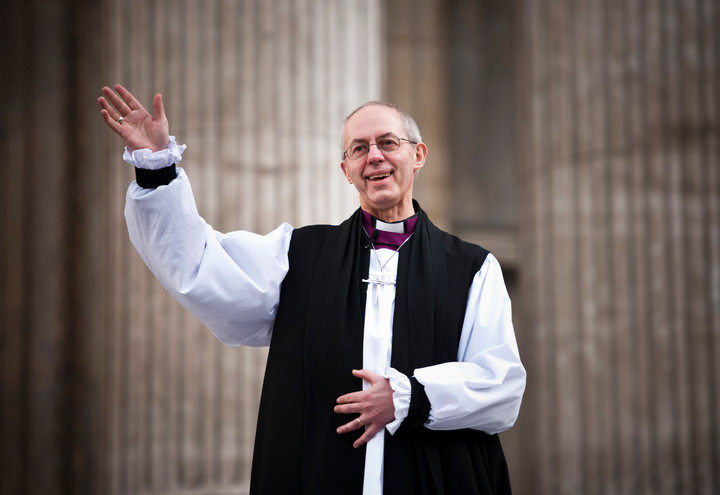 Christian violence is a figment of Welby's imagination
