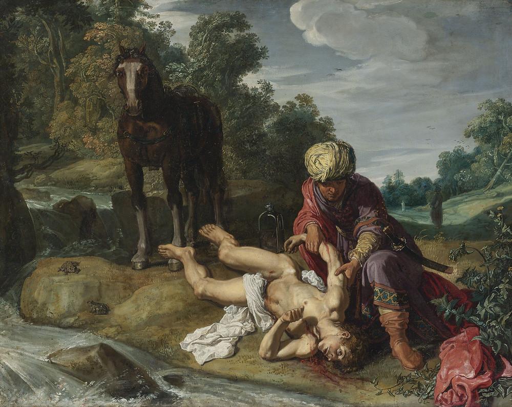 Pieter Lastman, The Good Samaritan, c.1612-1615