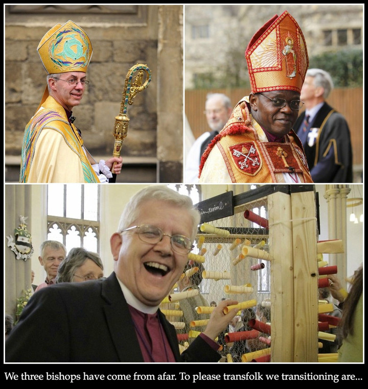Archbishops and evangelical bishop to transition for the Twelve Days of Christmas
