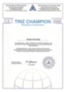 TRIZ Champion_MA TRIZ_Juergen Jantschgi_