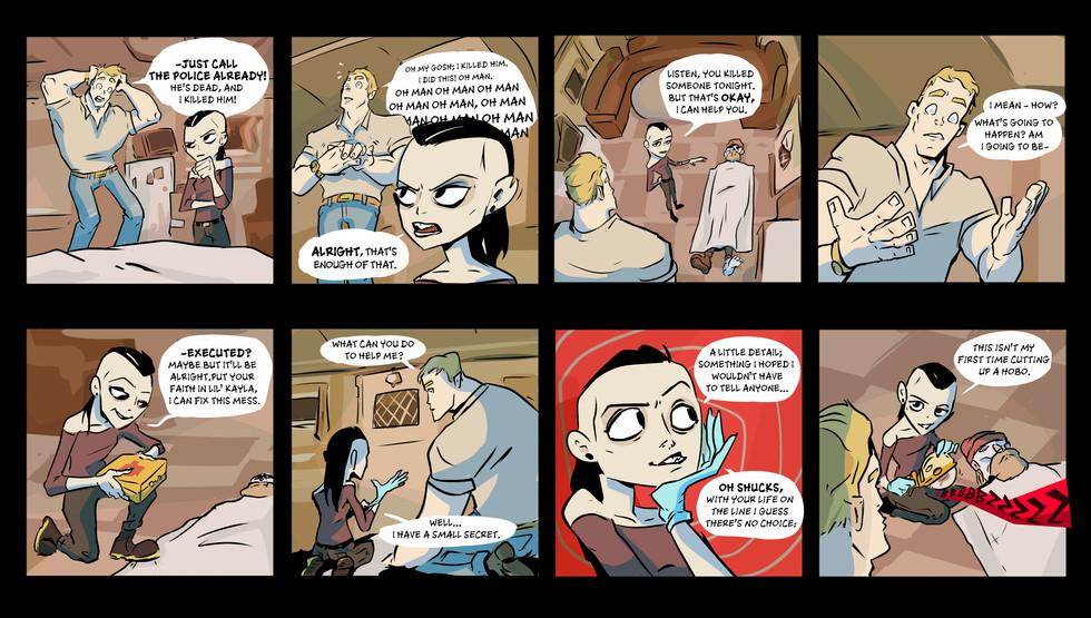 Trailer Comic