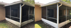 Screen Porch, Patio, Pressure Cleaning,