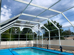 Swimming Pool Enclosure, Screen Porch, Screen Room, Lanai Cleaning Service