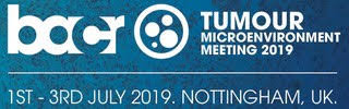 Tumour Microenvironment meeting 2019 Nottingham, UK