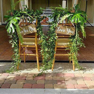 bridal chairs - outer banks affair weddi