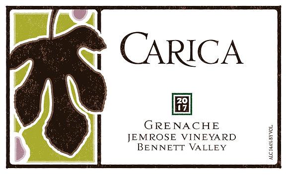 Grenache 2017, Jemrose Vineyard, Bennett Valley, Sonoma County