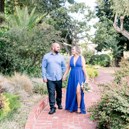 Downtown Monterey Engagement Session