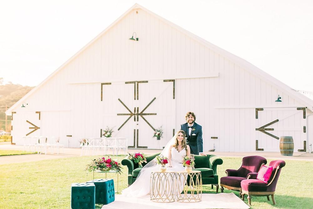 The White Barn Edna Valley Wedding