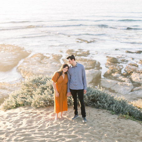 Sunny Engagement Session at Montana de Oro