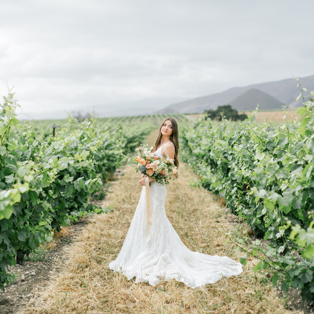 Biddle Ranch Winery - Intimate Wedding Inspiration
