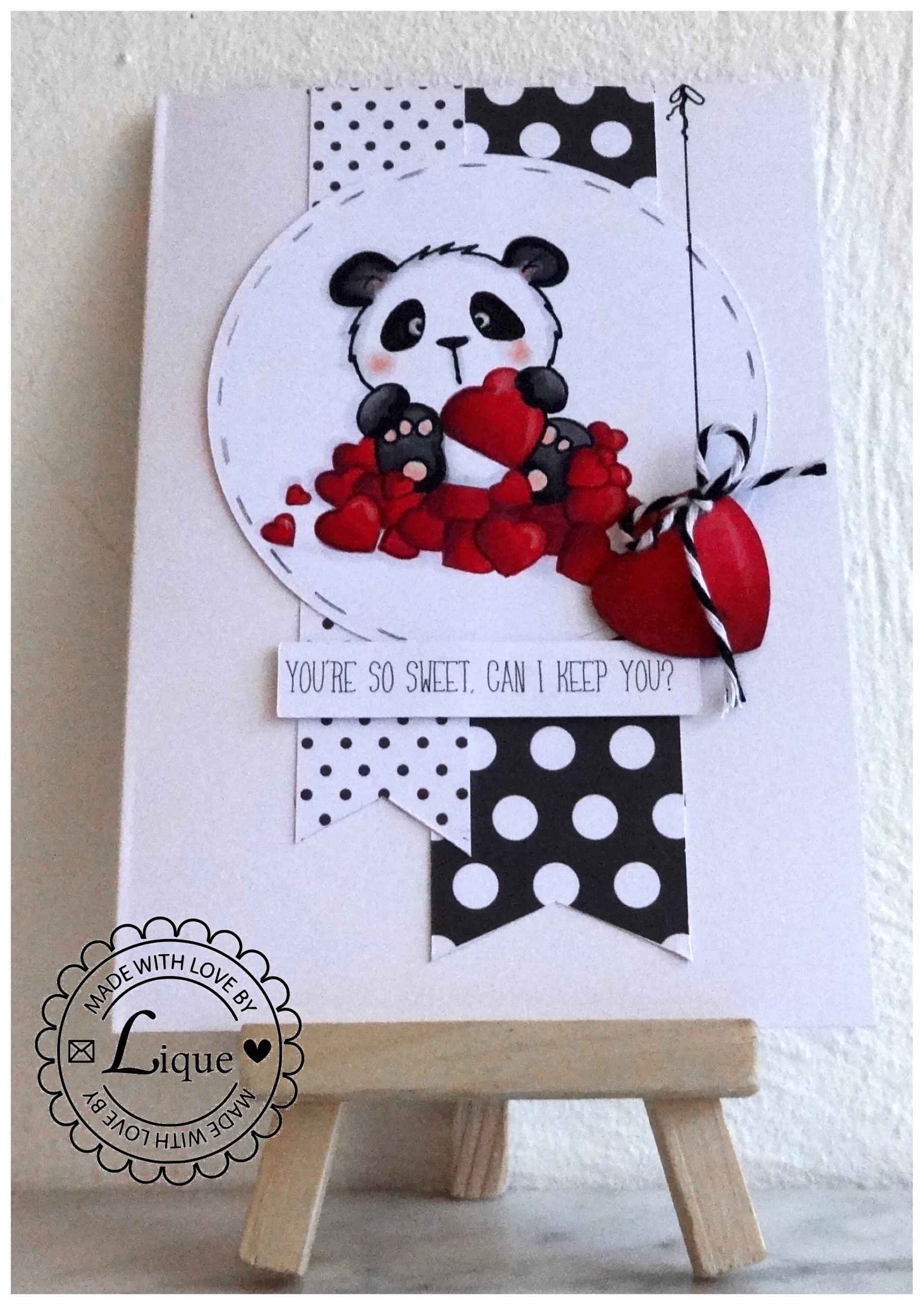 Sweet Panda Card