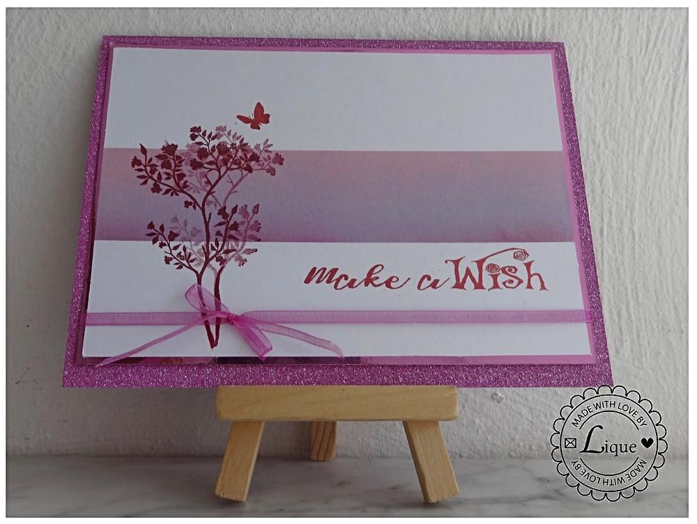 Card make a wish