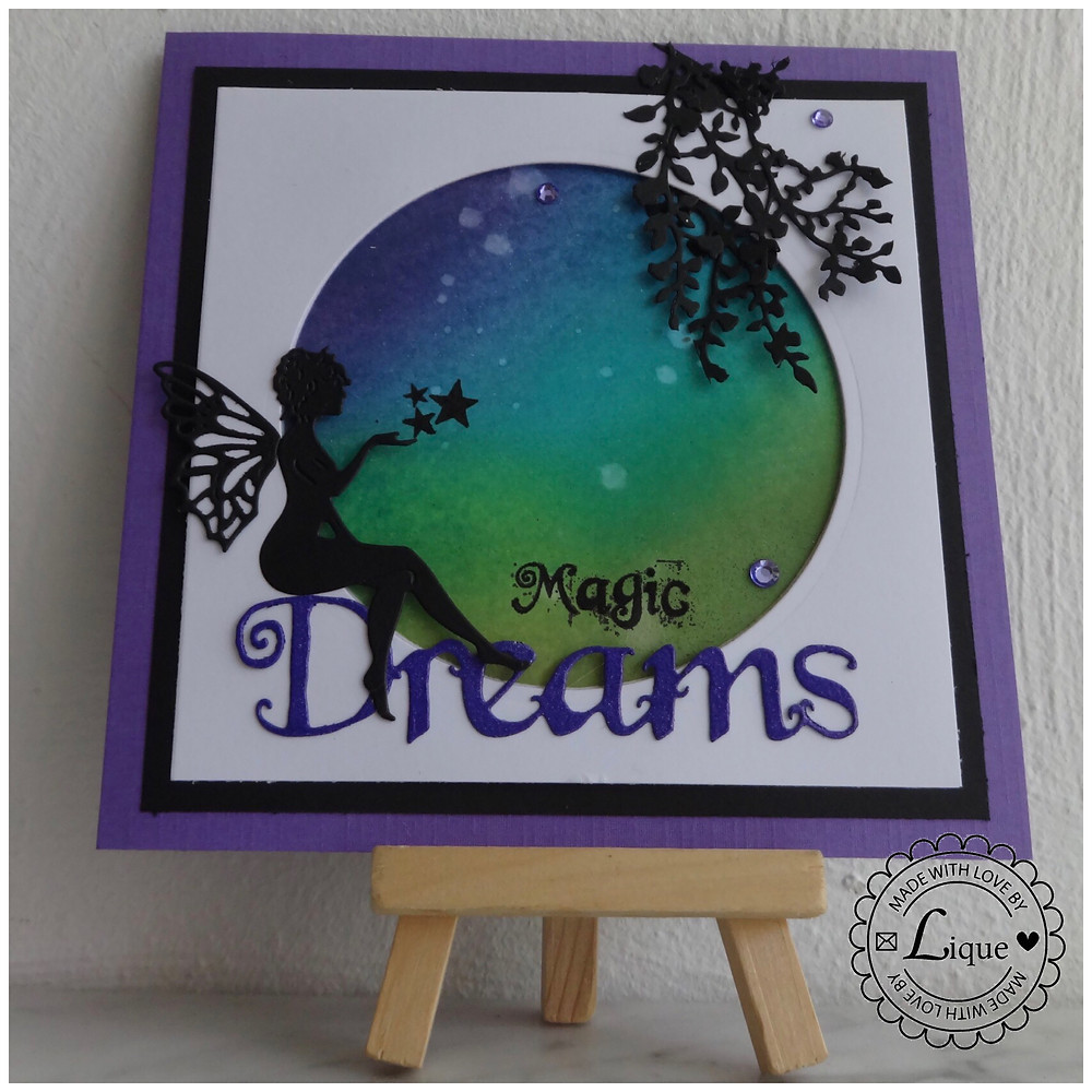 Enchanted Forest Fairy card