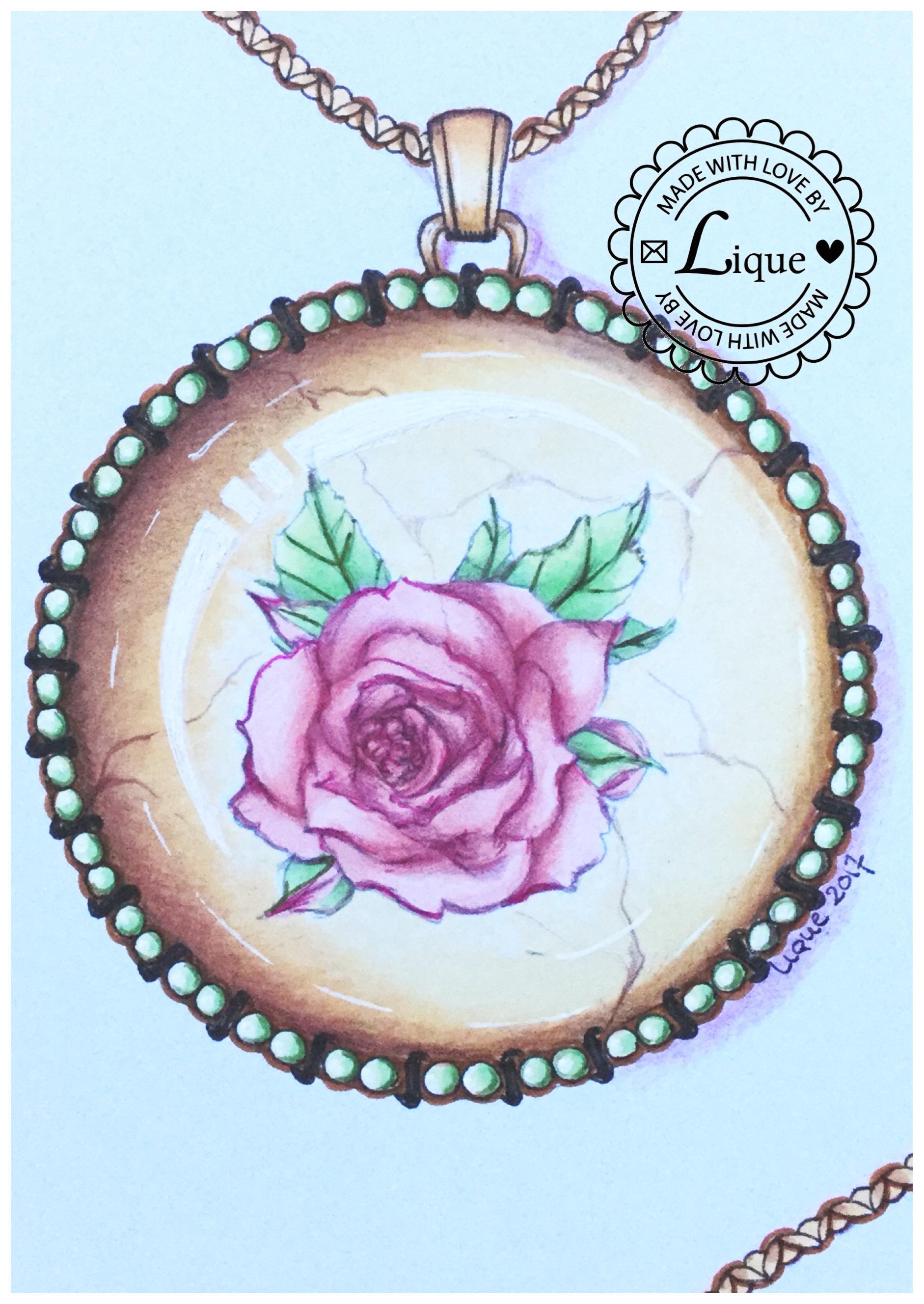 Rose Medaillon