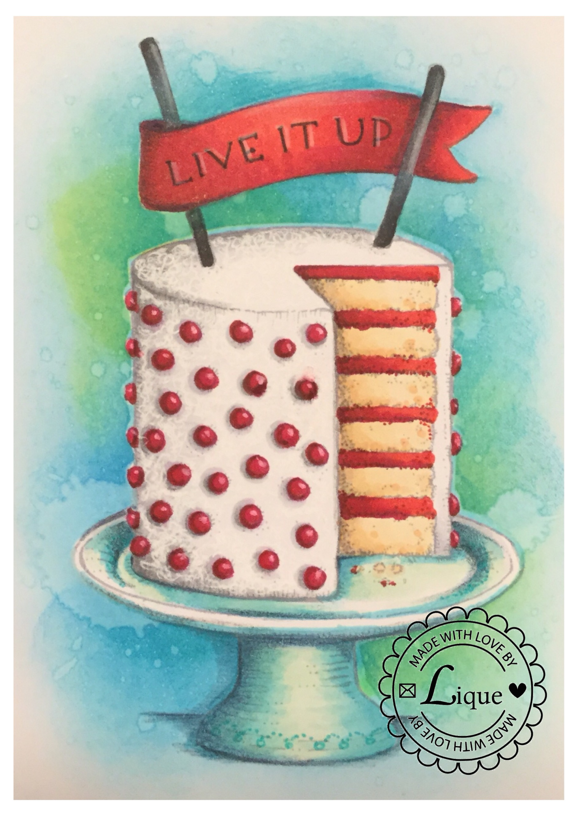 Live it up cake