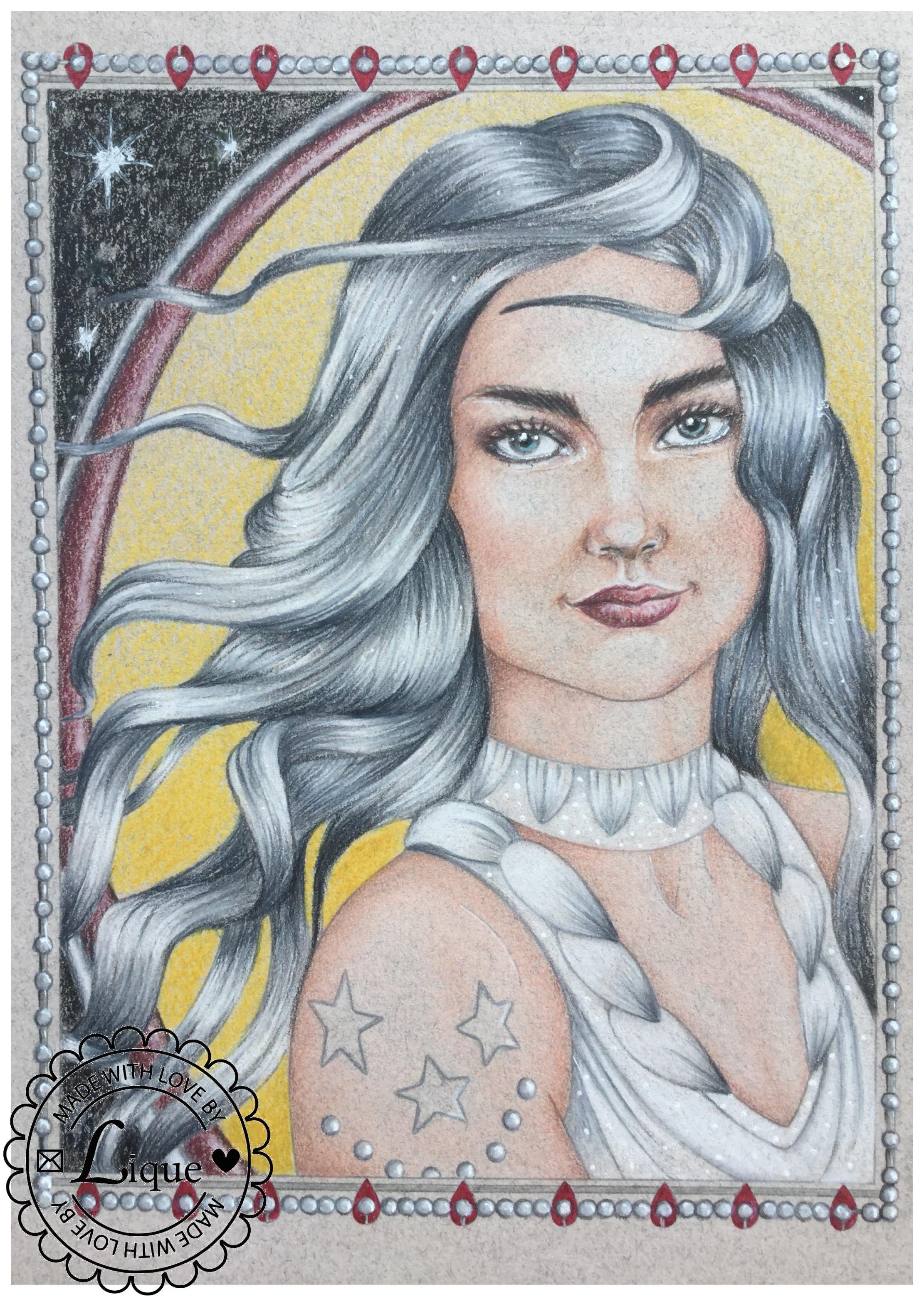 Swan Princess portrait