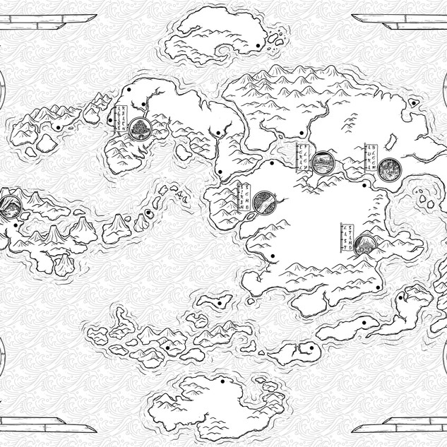RPG Map - World of Avatar