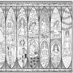 Double-Page illustration