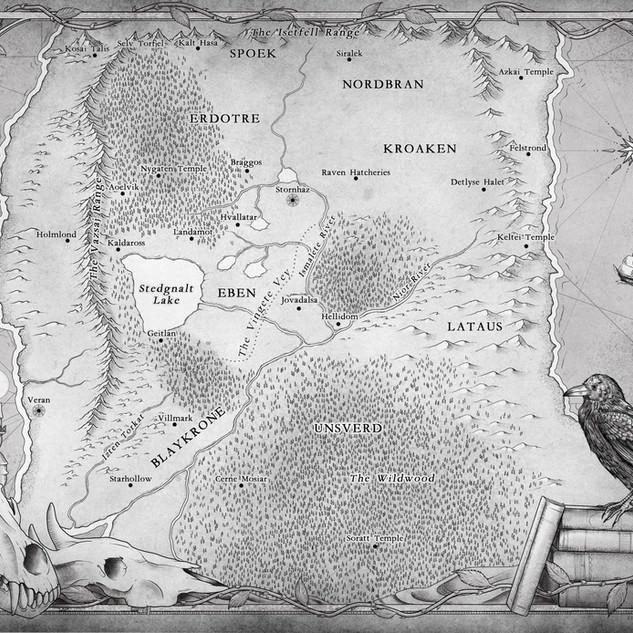 Starchaser Saga Map