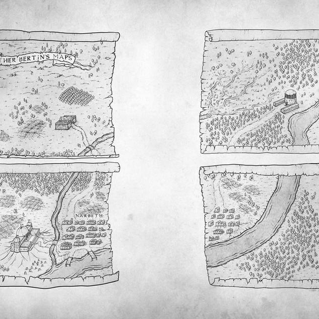 Brother Bertin's Maps