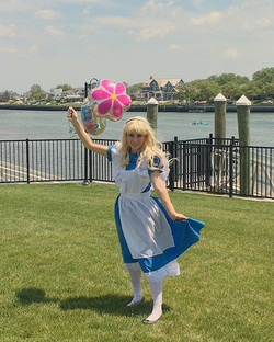 Alice joined our gang of fun today! She is happy to spend her summer by the beach with you all at th