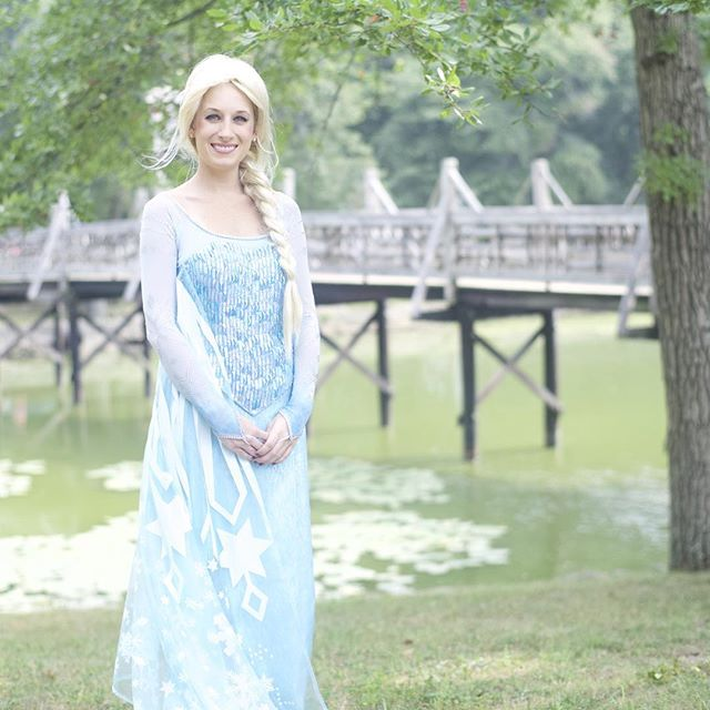 Ask about bookings! #disneyprincess #airelcosplay #cosplay #disney #partyfairyllc #elsa #elsaandanna