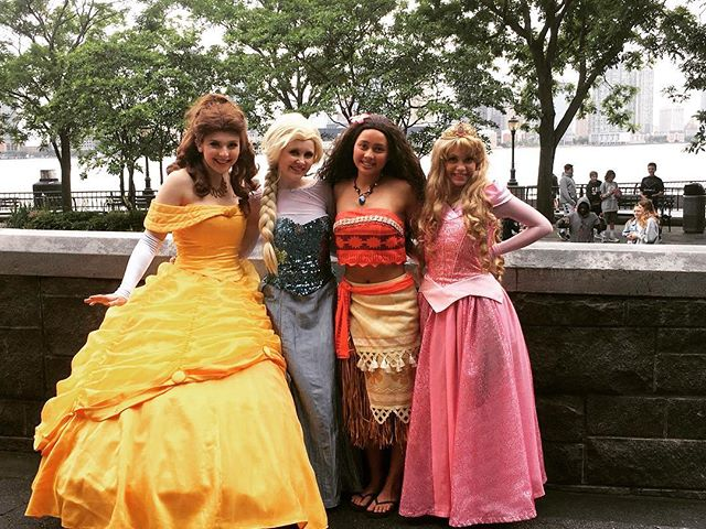Princesses take #Manhattan! 🌃