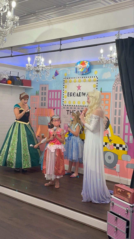 60 Minute Princess Party 3 Princesses