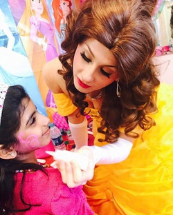 Princess Belle had a wonderful time today at Andrilla's Da- Fit _Dance & Fitness_ Studio! She is ver