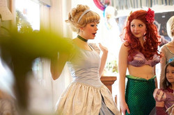 The look Ariel gives you when she realizes your not coming to Princess Camp 💁😑😉! Meet us at 9am a