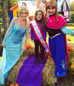 Would you like these two beauties to visit your next party_ 👑💜❄️💕🍂🍃