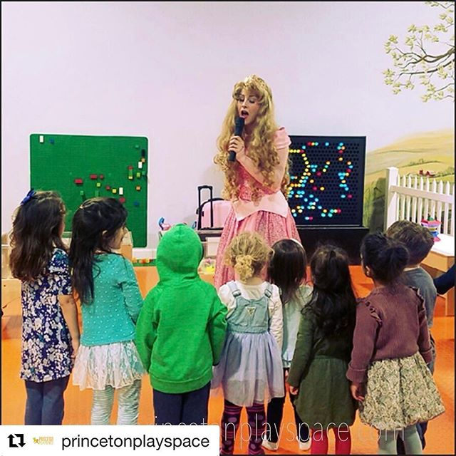 #Repost _princetonplayspace with _repostapp_・・・_#SleepingBeauty surprised #birthdaygirl!  Everyone s