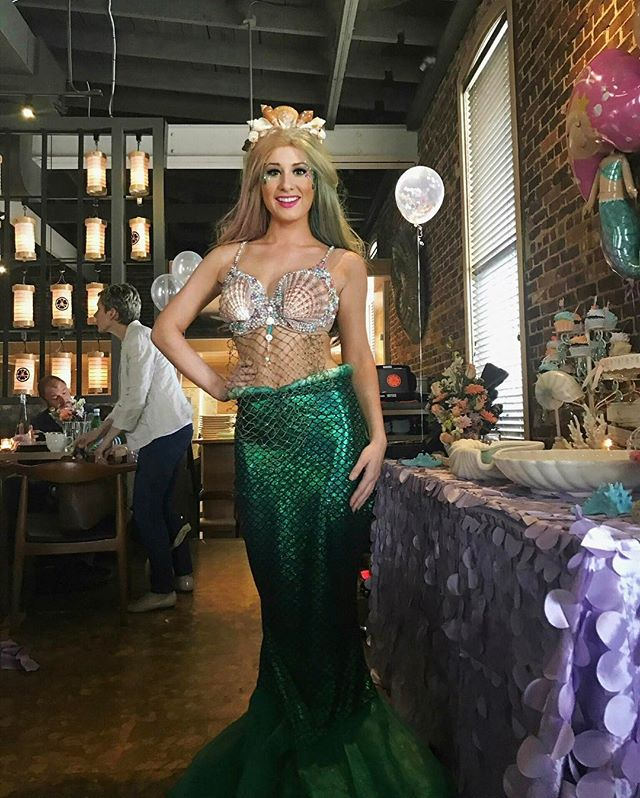Mermaid-Sushi Party 🍣 🐟at TAKA Asbury Park_#mermaidparty #sushi #taka #mermaid #asburypark _takare
