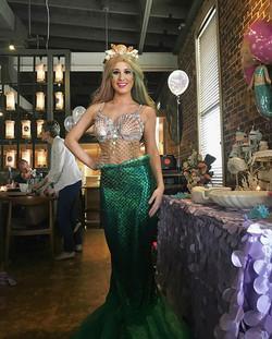 Mermaid-Sushi Party 🍣 🐟at TAKA Asbury Park_#mermaidparty #sushi #taka #mermaid #asburypark _takare