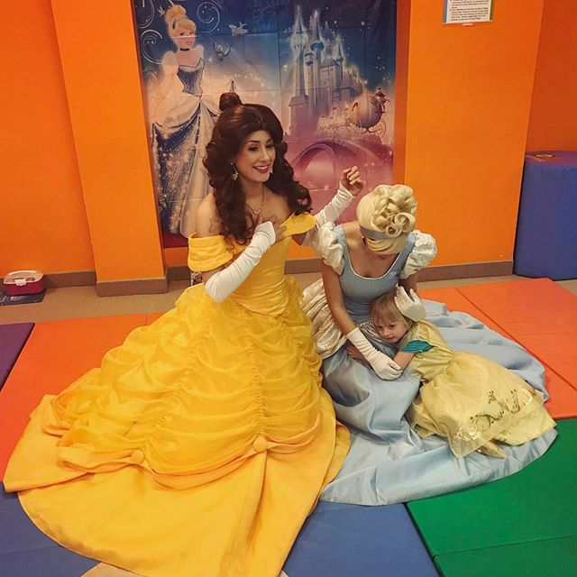 When you just can't say goodbye 😪 #princessparty #thepartyfairyllc