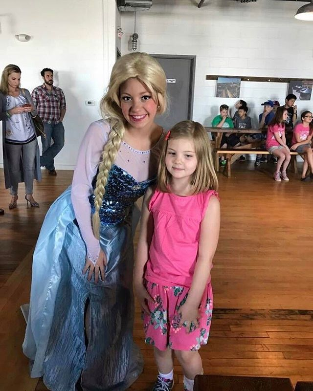 Beautiful Elsa supporting _beachmusicstudios scholarship fundraiser at _beachhausbeer in Belmar! #el