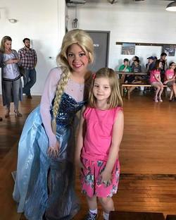 Beautiful Elsa supporting _beachmusicstudios scholarship fundraiser at _beachhausbeer in Belmar! #el