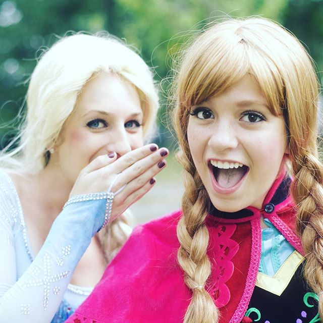 Some people are worth melting for #annaandelsa #anna #elsa #partyfairy #partyfairyllc #disney #disne