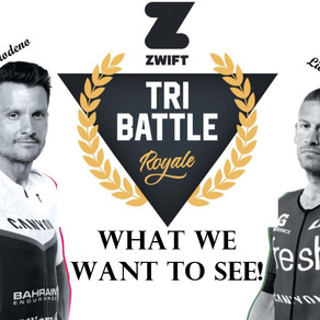 The Zwift Tri Battle Royale: What we want to see!